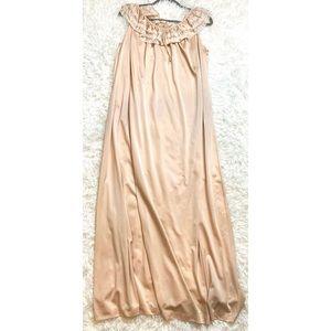 Vintage Komar Nylon Long Nightgown Maxi Dress